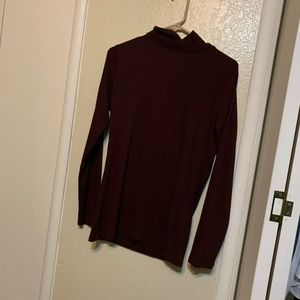 A New Day Maroon Turtle Neck Size XL